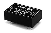 Cincon EC4A04   Isolated DC/DC Converters 5-6W 9-18VDC +/-12V +/-230mA       cod.800.3.2AD