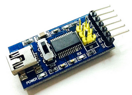 Breakout FTDI FT232RL USB-RS232 TTL 3,3V/5V