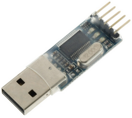 Interfaccia adapter PL2303HX USB/RS232